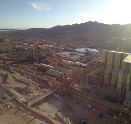 Proyecto OGP1 de Minera Escondida