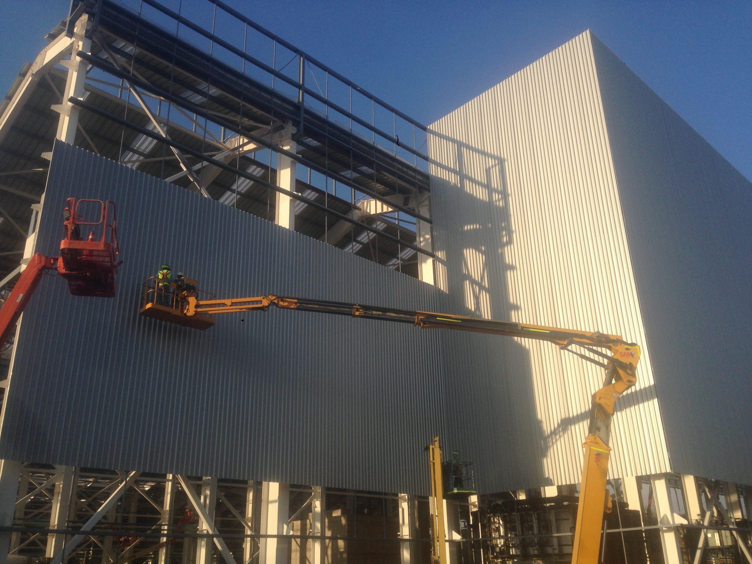 Proyecto Elecmetal – Reposición cubiertas y revestimientos